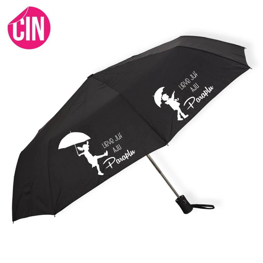 meester en juffen cadeau personalisering paraplu customizen bedrukt