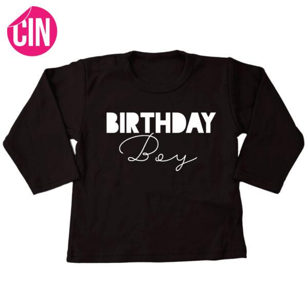 Birthday boy shirt long sleeve cindysigns