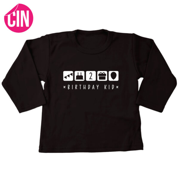 Verjaardag T-shirt