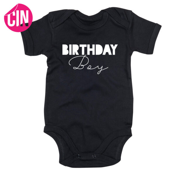 Romper birthday boy cindysigns