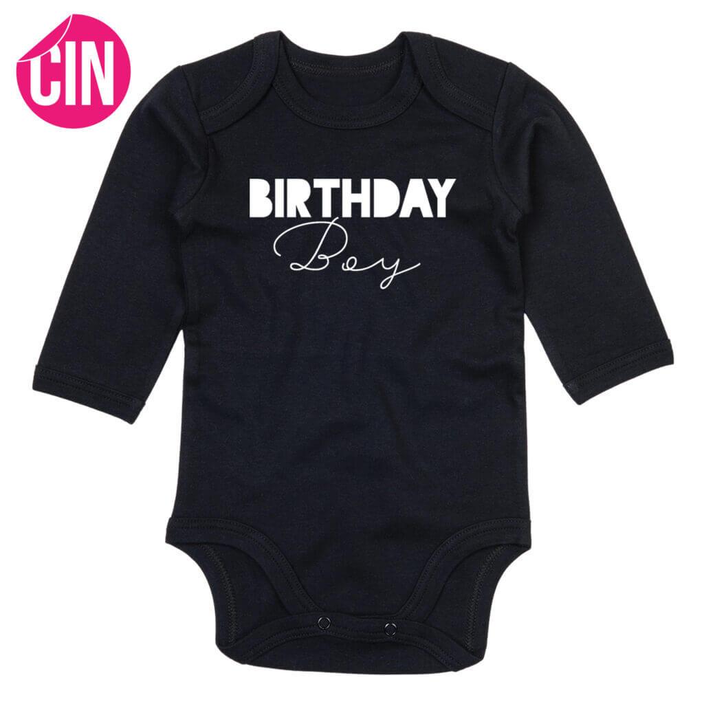 Romper birthday boy cindysigns