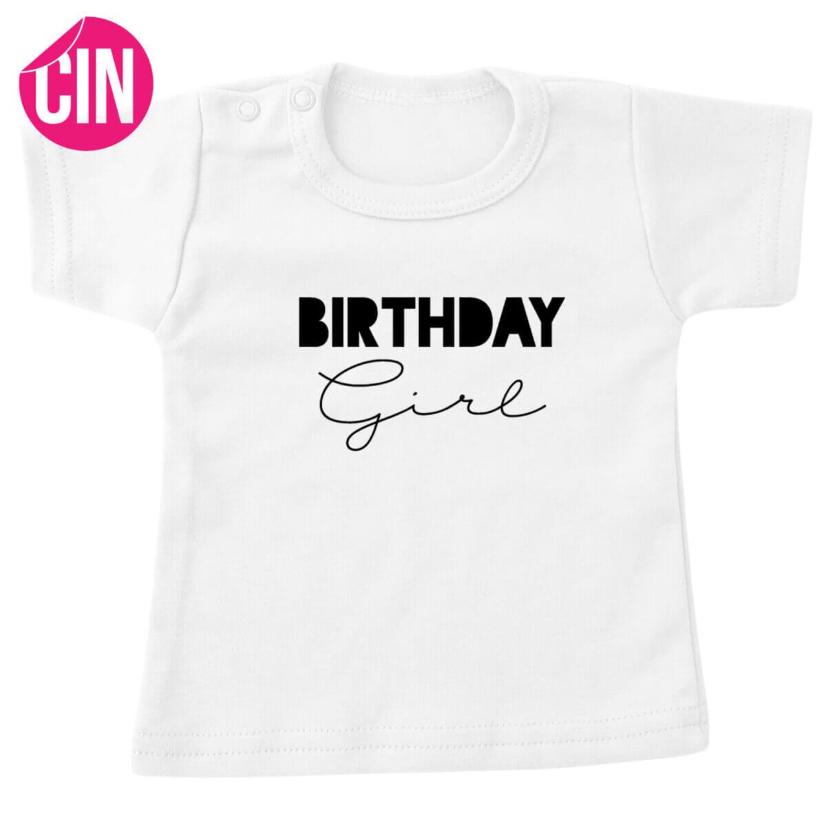 birthday girl t-shirt wit cindysigns