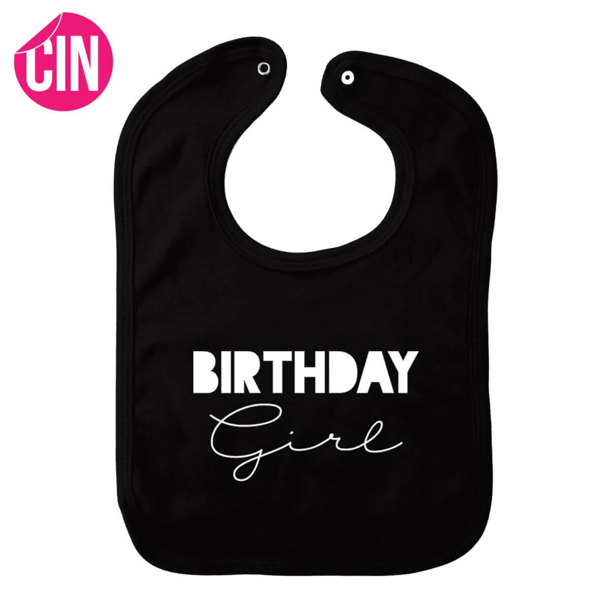 birthday girl slabber zwart cindysigns