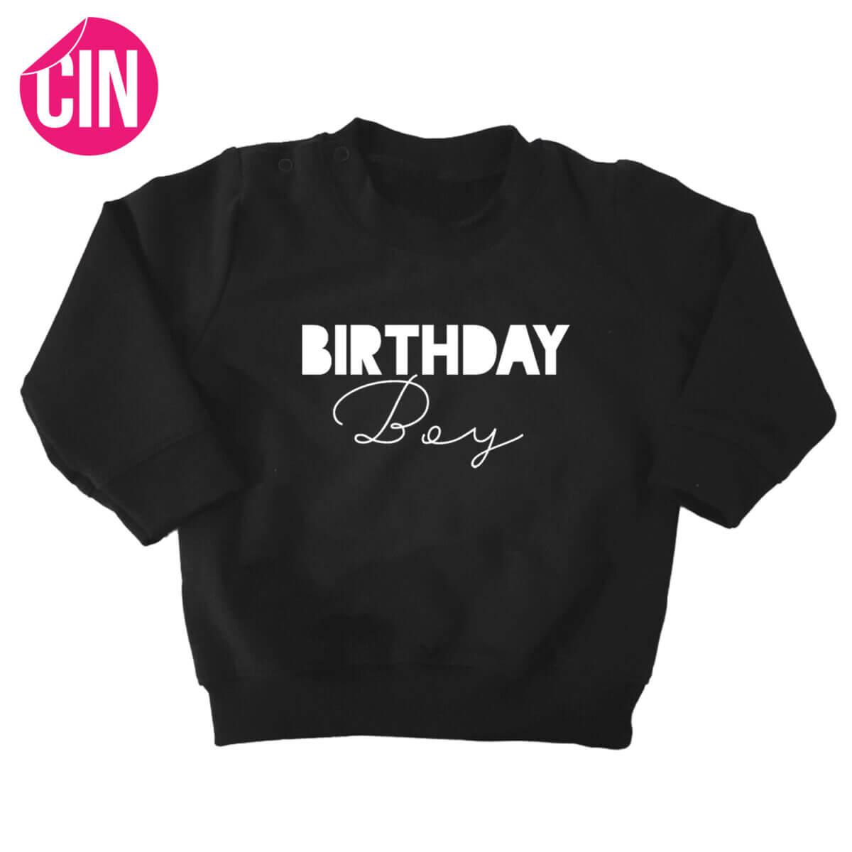 sweater birthday boy cindysigns