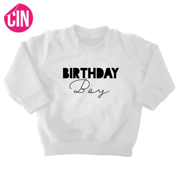 sweater birthday boy cindysigns