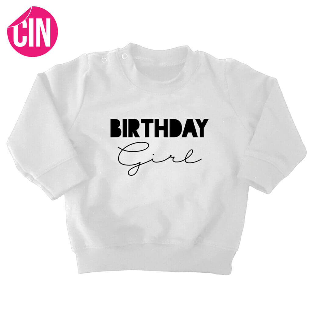 sweater birthday girl wit cindysigns