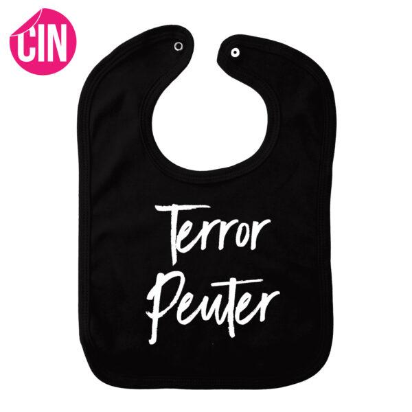 Slabber terror peuter zwart