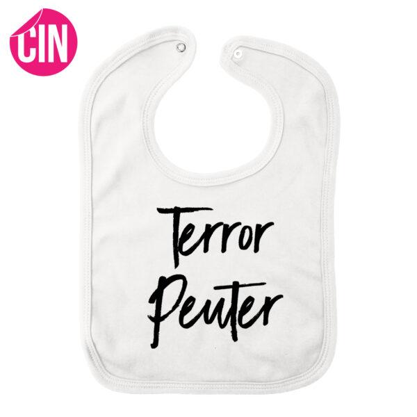 Slabber terror peuter wit