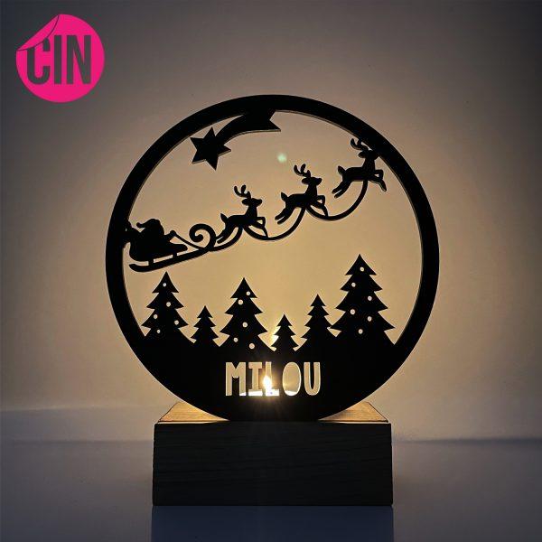 Kerst theelichthouder Cindysigns