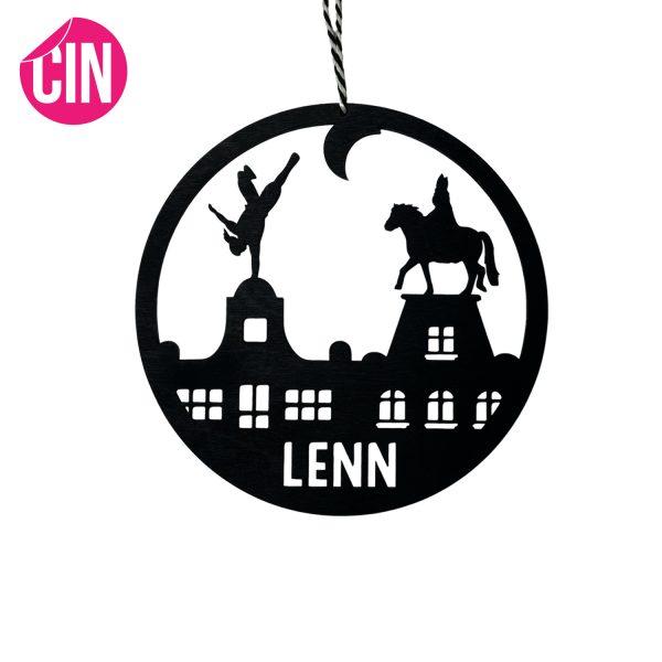 Sinterklaas wooncirkel roundie muurcirkel cindysigns